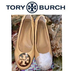 Tory Burch Reva Nude Flats